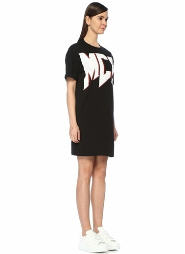 McQ Alexander McQueen Elbise Siyah